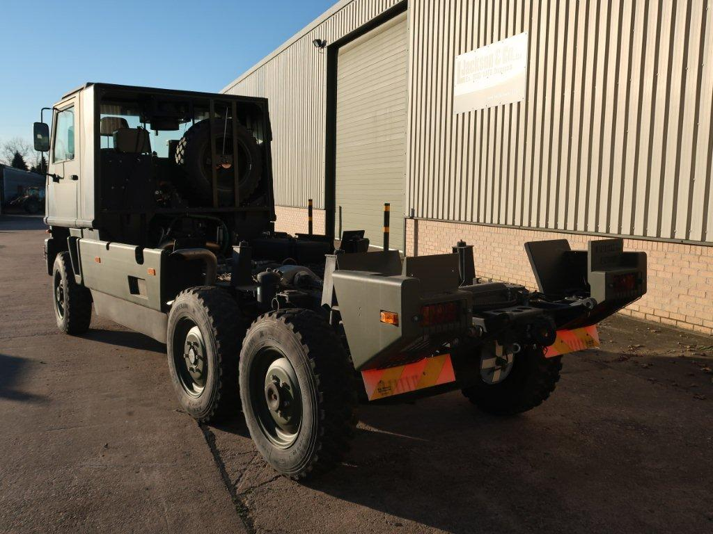 Mowag Duro II 6x6 Chassis Cab |  EX.MOD direct sales