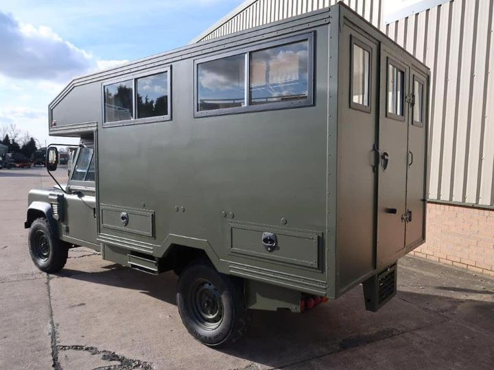 Land Rover Defender Wolf 130 Shoot Bus