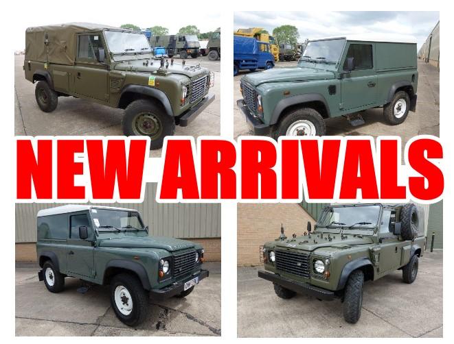Новое поступление внедорожники 110 и 90  Land Rover 110 Defender | MOD direct sales