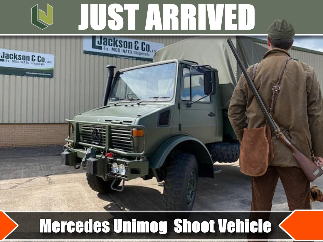 The perfect shooting estate Mercedes vehicle. | MOD direct sales