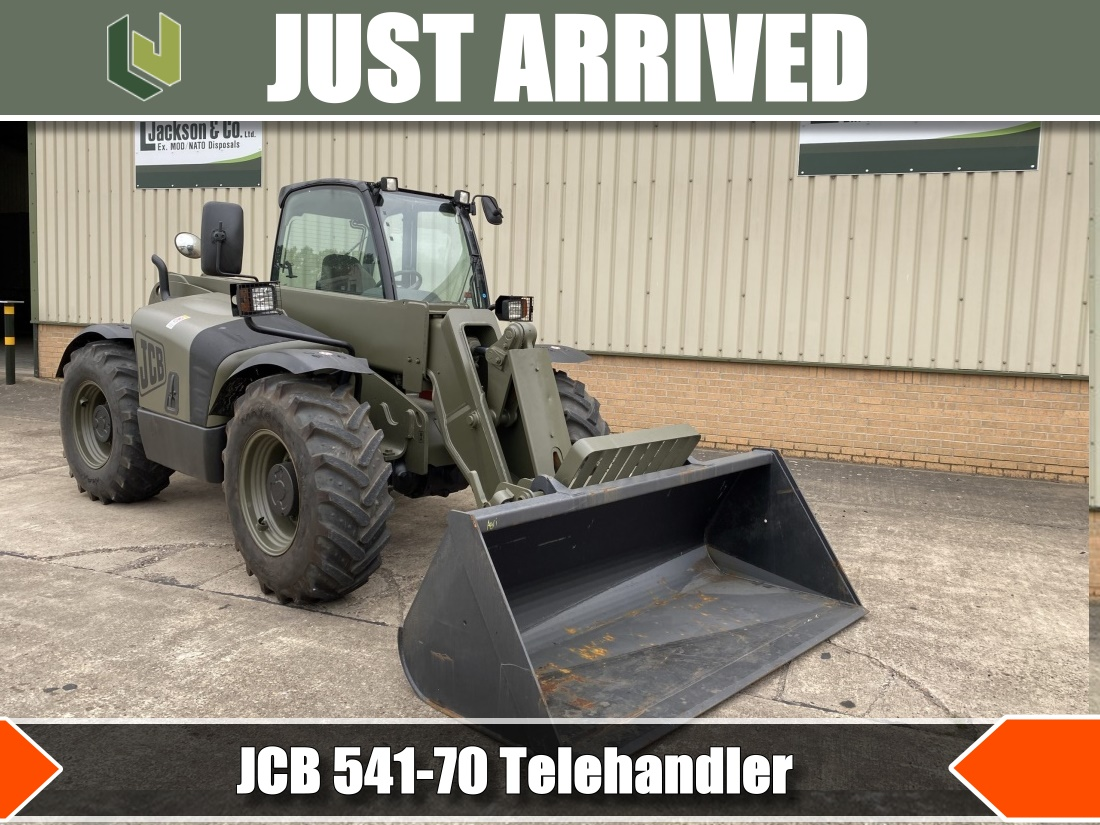 2 JCB 541-70 Telehandlers now available