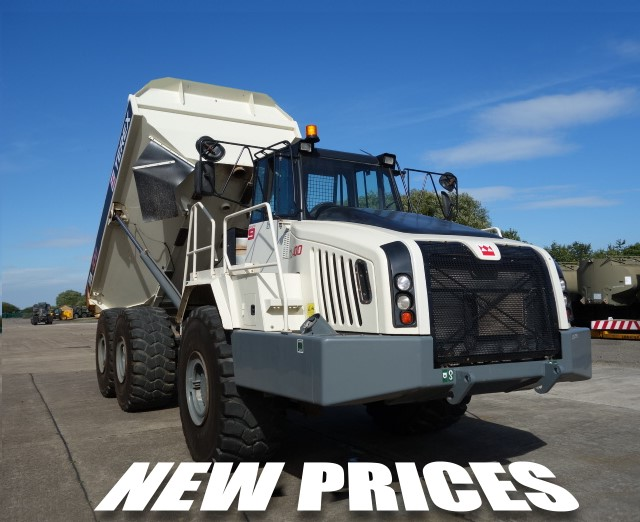 Дисконтные цены на сочленные самосвалы  Terex TA400