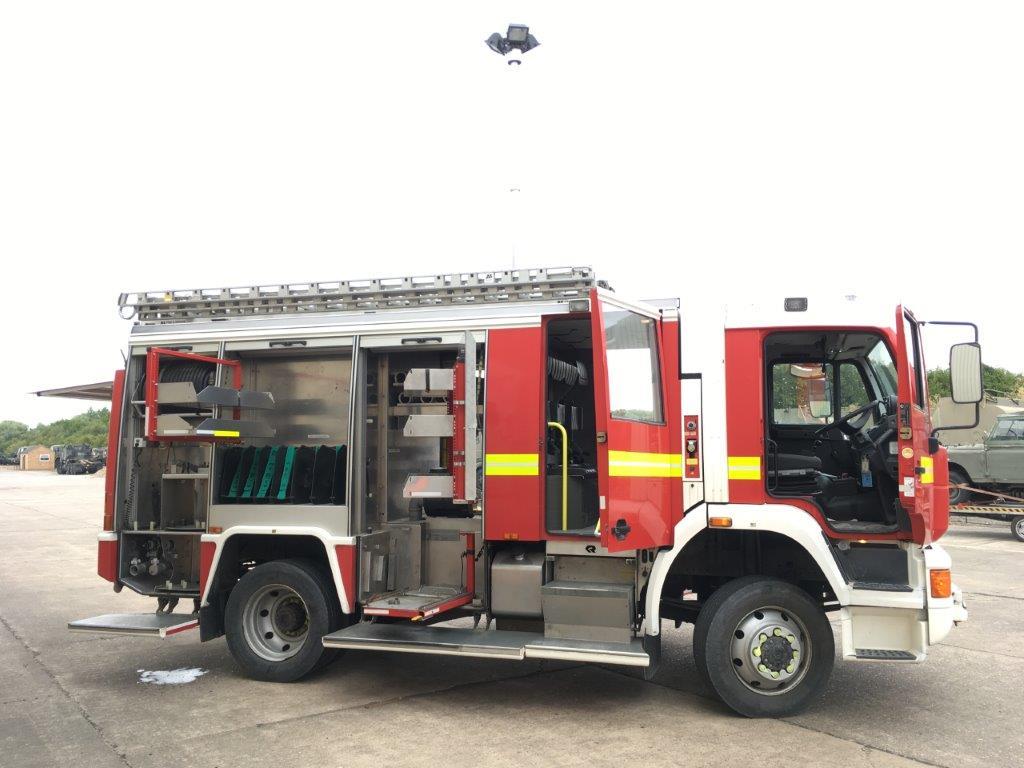 M.A.N 14.284 пожарно-спасательная машина