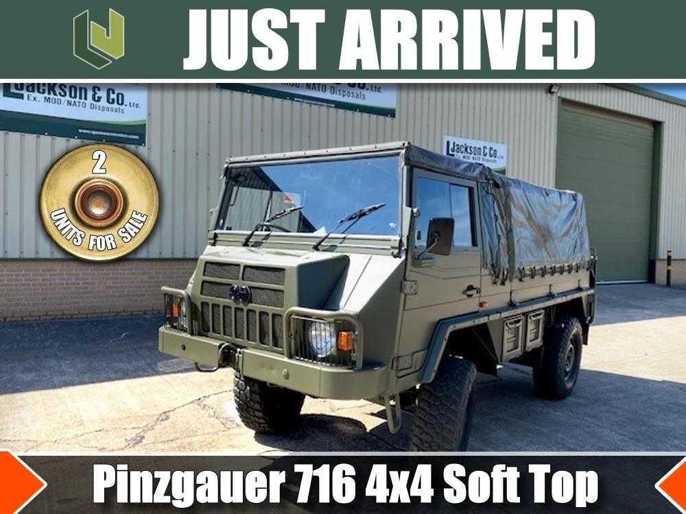 Pinzgauer 716 4x4 Soft Top - cheap price