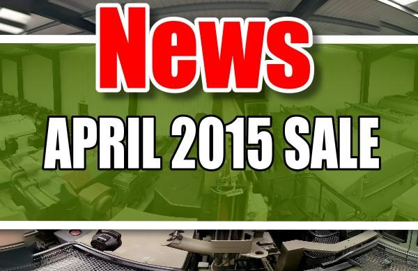 MOD/ NATO Disposals | APRIL 2015 SALE