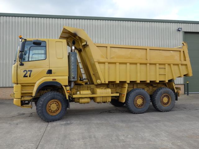 Legendary 21 Foden Alpha 3000 6x6 RHD dump trucks