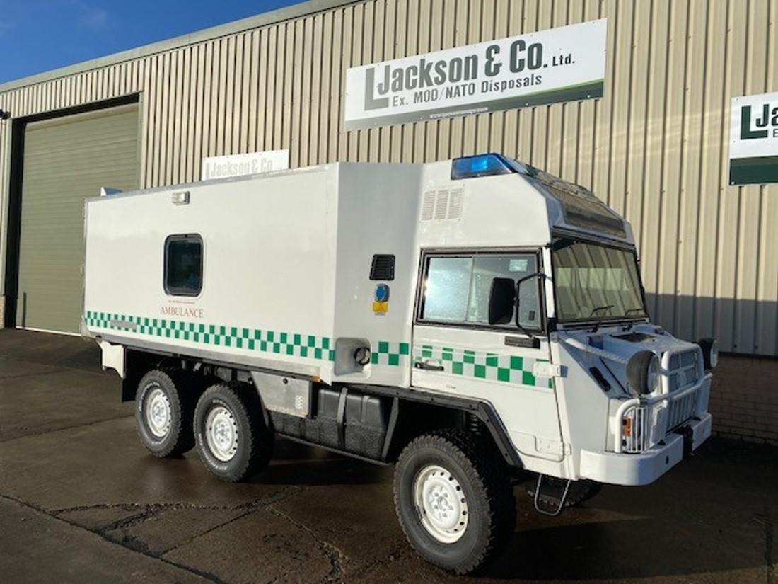 Pinzgauer 718 6x6 Ambulances | MOD direct sales