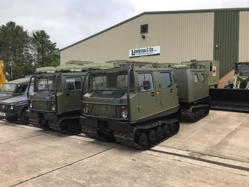 Hagglund BV206s ready for blockbuster film