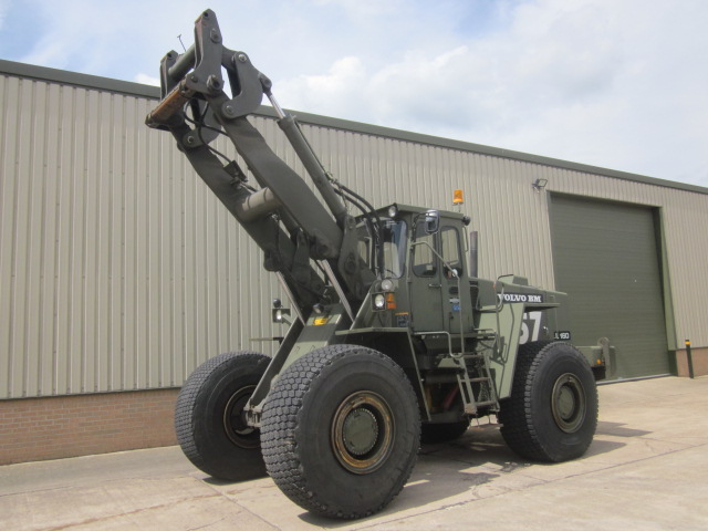 Was sold Volvo L160 ex military front loader