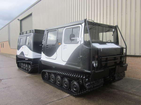 Hagglund BV 206 personnel carrier with exclusive painting for Russia