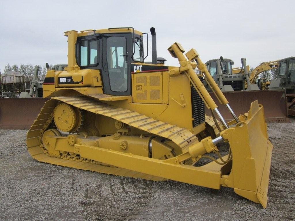 was sold Caterpillar D6R LGP  dozer