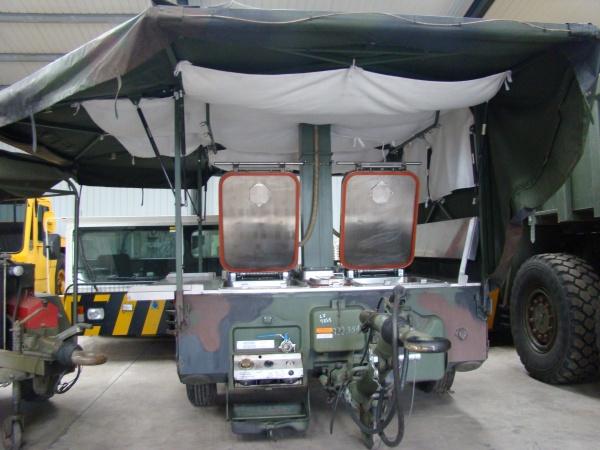 Karcher TFK 250 Army Mobile Field Kitchen Trailer