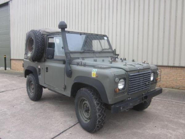 Land Rover Defender 90 Wolf RHD | Used ex.military Bedford trucks ...