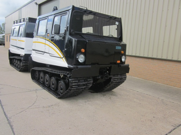 The Hagglunds Bv206 turbo diesel for Russia | Used ex