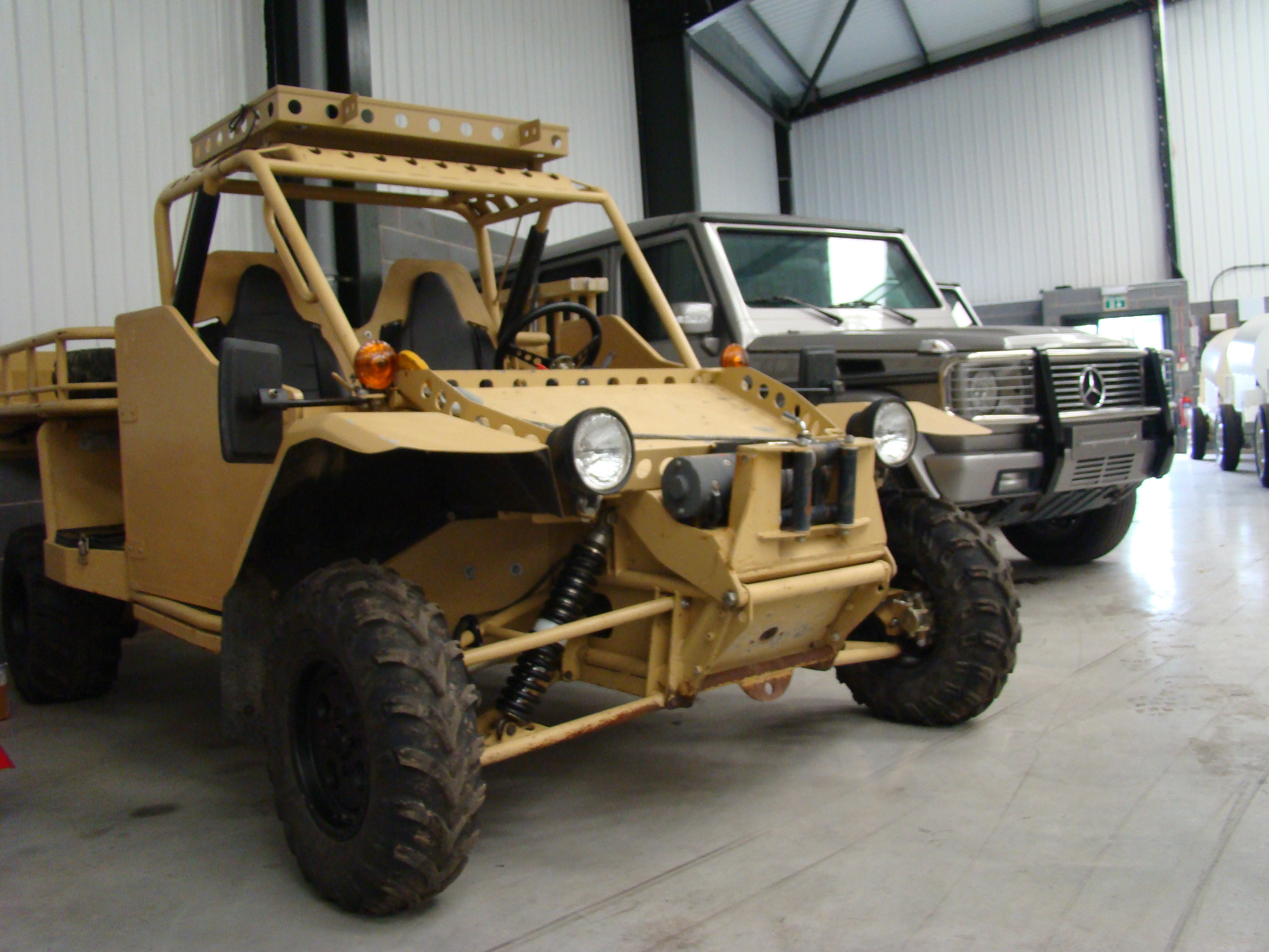 Was sold EPS Springer ATV Armoured Vehicle Ex military vehicles for