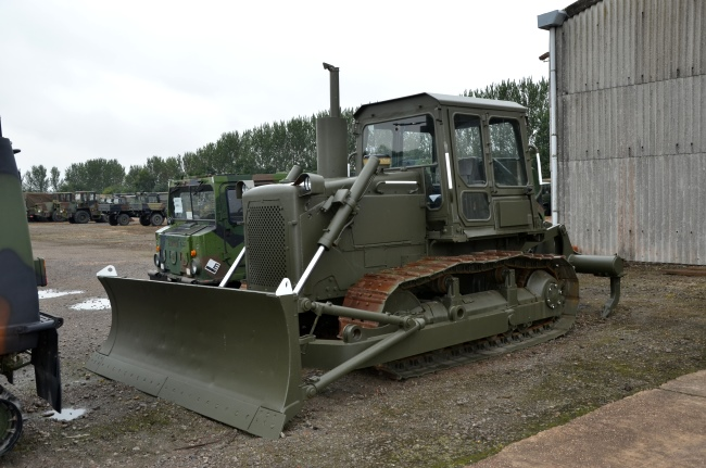 Was sold the Caterpillar D6D dozer with ripper | Used ex