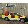 Toyota Hilux Double Cab 4x4 Fire Vehicle   ex military for sale