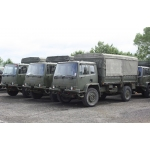 Leyland DAF 45.150  4x4 Drop Side Cargo Truck   ex military for sale