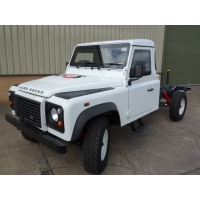 New Armoured Land Rover 130 RHD Chassis Cab for sale