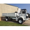 Iveco Magirus 110-16 4x4  truck with crane HIAB 965-90   ex military for sale