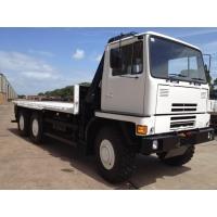 Bedford TM 6x6 Drop Side Cargo Truck with Atlas Crane