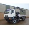 Man LE18.220 4x4 crane truck for sale