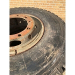 Michelin 12.00R20 XZB Spare Wheels   ex military for sale