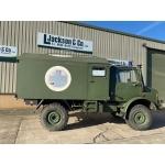 Mercedes Unimog U1300L 4x4 Ambulance (camper van) | Off-road Overlander military