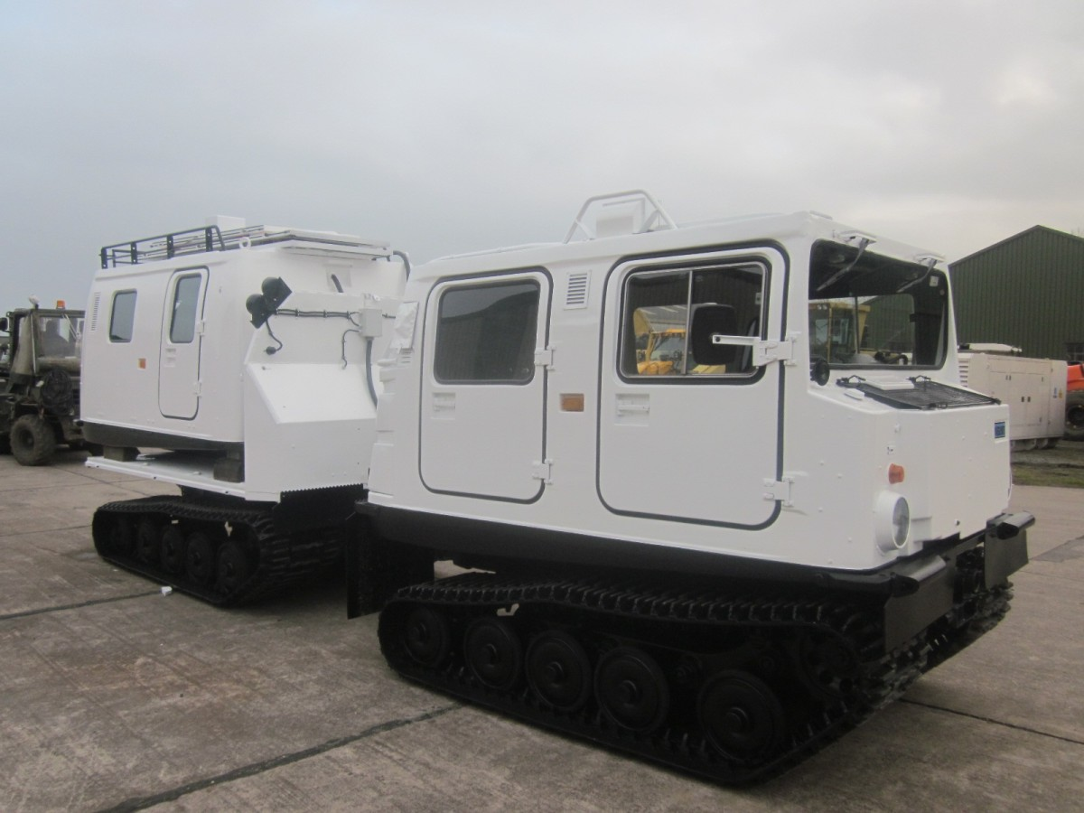 Hagglunds Bv206 Personnel Carrier     (Mercedes diesel engines)/ MOD NATO Disposals/ for sale and export