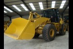 Caterpillar 950 H wheeled loaders, good specification, machines fitted with new Cat 3.3 cube GP bucket