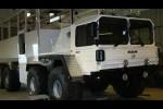 MAN 464 8x8 off-road passenger vehicle