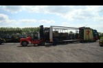 Loading M548 tracked cargo carrier vehicle