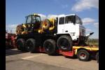 Foden 8x6 DROPS truck  cargo platform