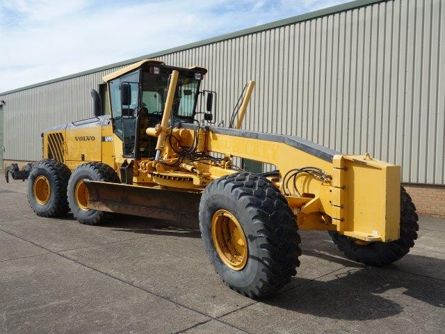 Volvo G990 Grader  for sale . The UK MOD Direct Sales