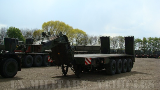 Faun Kassbohrer SLT-50-2 Semi trailer | used military vehicles for sale