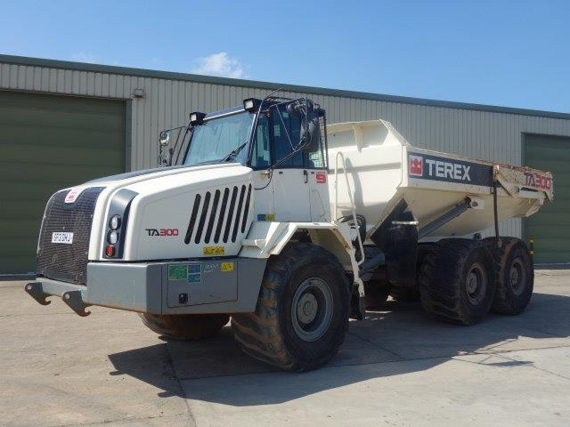Terex TA300 6x6 Articulated Dumper 2012 | used military vehicles for sale