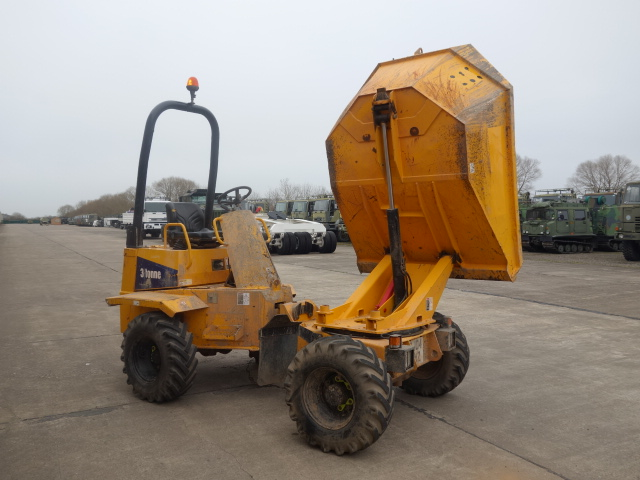 WAS SOLD Thwaites 3 ton Alldrive articulated swivel dumper