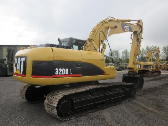 SOLD Caterpillar 320 DL Tracked Excavator | used military vehicles, MOD surplus for sale