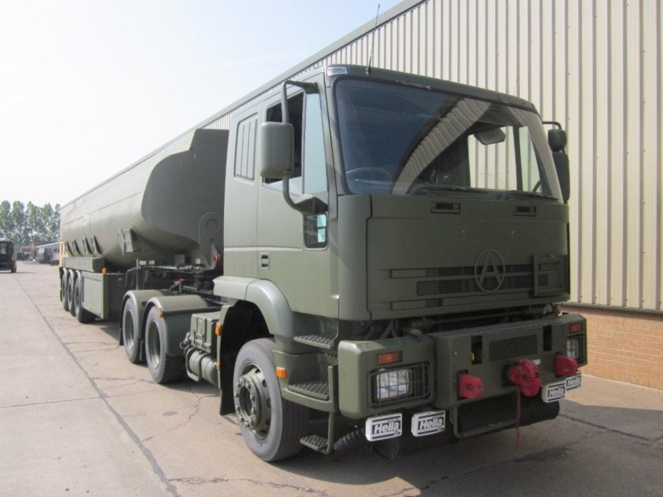 Seddon Atkinson 68 ton 6x4 RHD tractor unit for sale | military vehicles