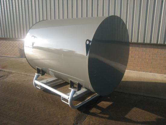 WAS SOLD 2,000 litre bunded tank with metered pump