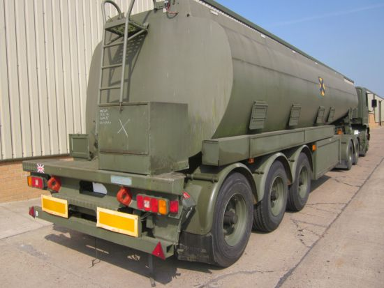 Thompson PT44/3  32,000 litre tanker trailer | used military vehicles, MOD surplus for sale