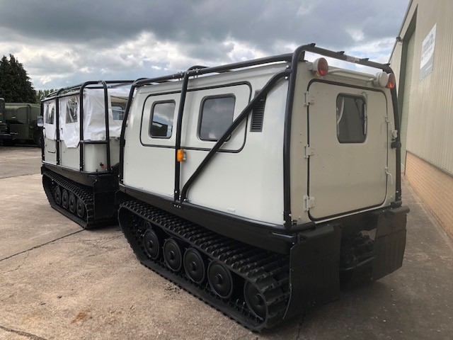 Hagglund Bv206 Soft Top (Front) & Hard Top (Rear) | used military vehicles, MOD surplus for sale
