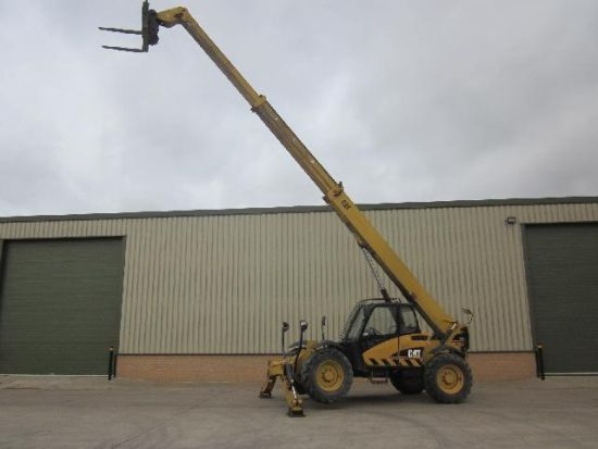 WAS SOLD Caterpillar TH 355B teleporter