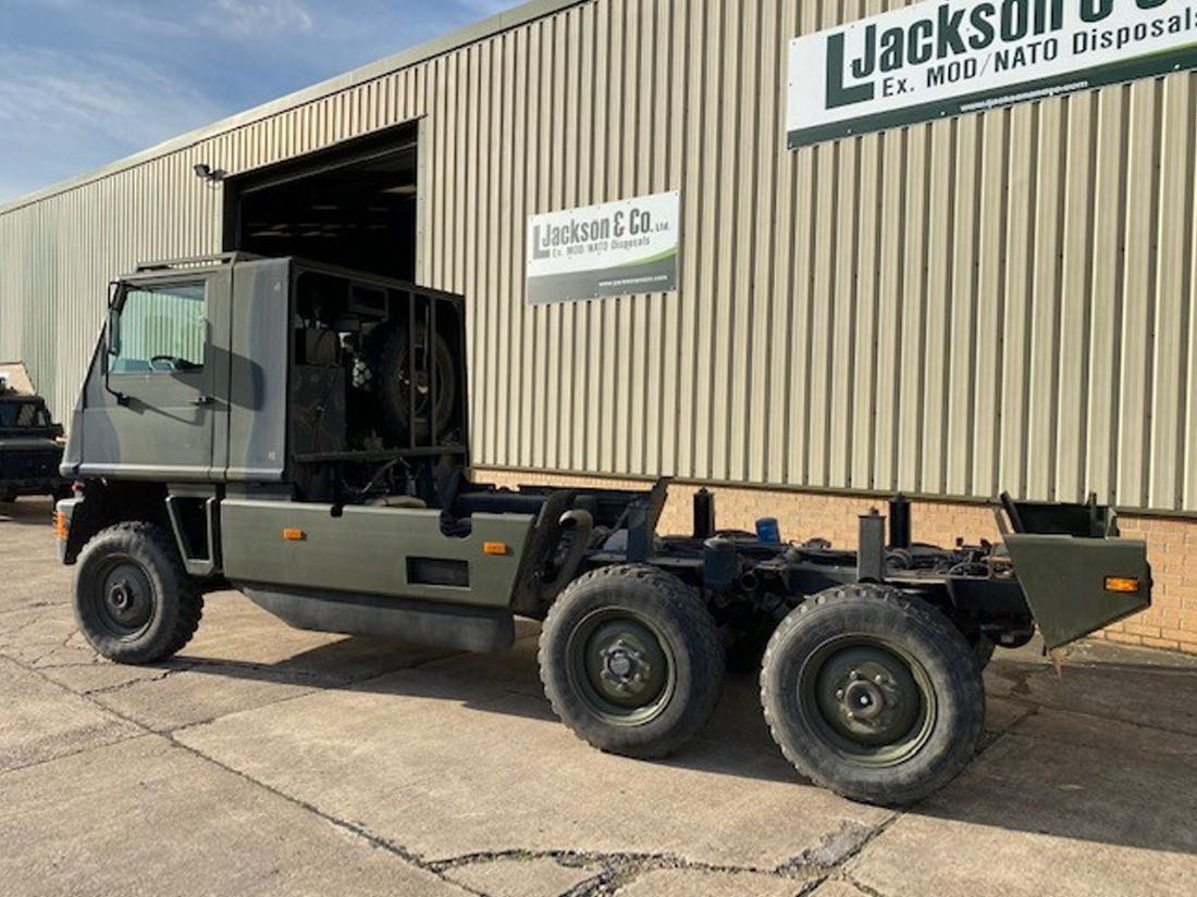 Mowag Duro II 6x6 Chassis Cab for sale