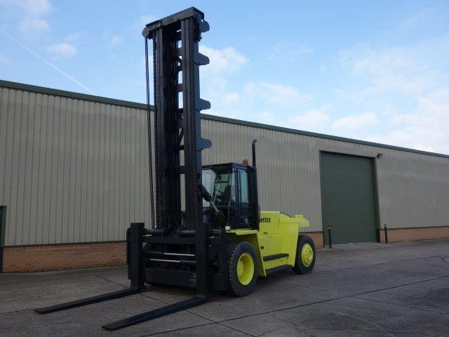 Hyster H18.00XM-12   Forklift  for sale. The UK MOD Direct Sales