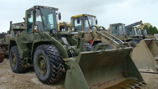 SOLD CASE 721  BXT  wheeled loader | used military vehicles, MOD surplus for sale