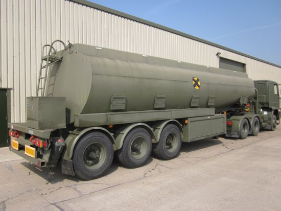 Thompson PT44/3  32,000 litre tanker trailer |  EX.MOD direct sales
