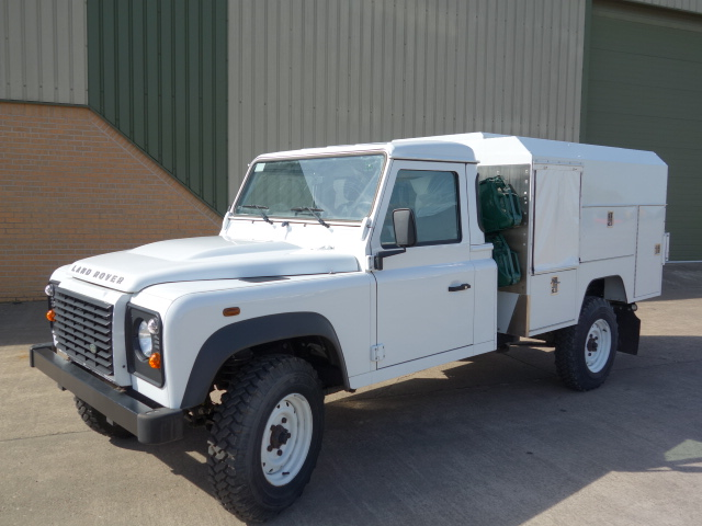 WAS SOLD New Land Rover 130 LHD Maintenance vehicle