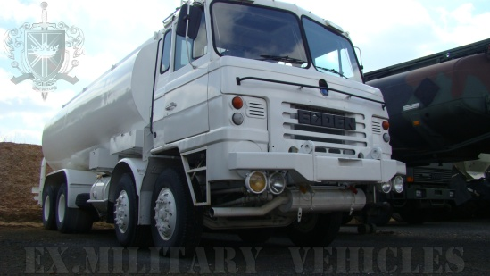 WAS SOLD FODEN 8x4 22,500lt Military Airfield Tanker Truck