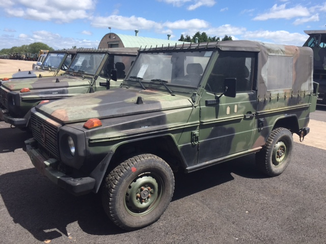 Mercedes Benz 250GD wolf 4x4 | used military vehicles for sale